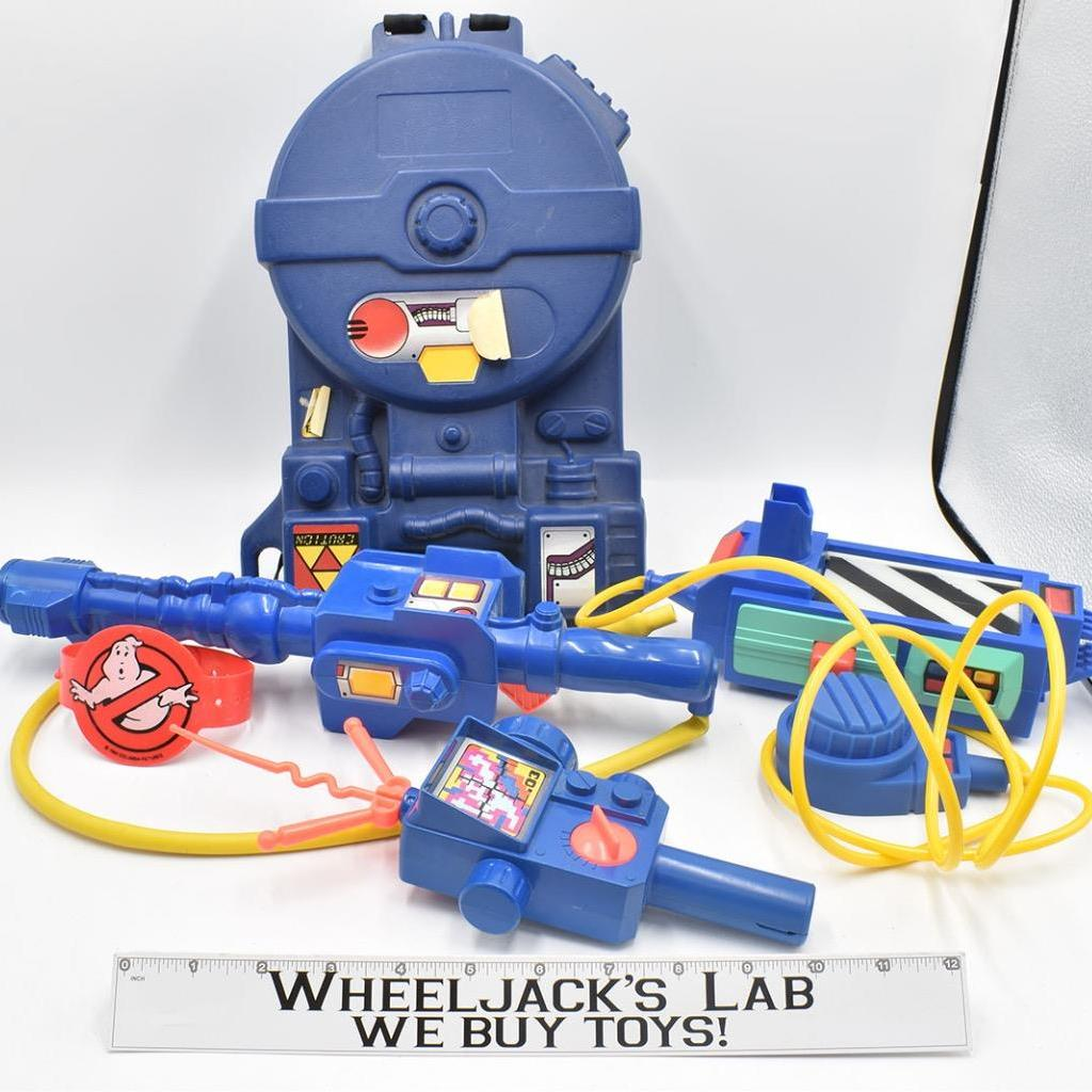 Kenner The Real Ghostbusters Proton Pack PKE Meter Ghost Trap Arm Band
