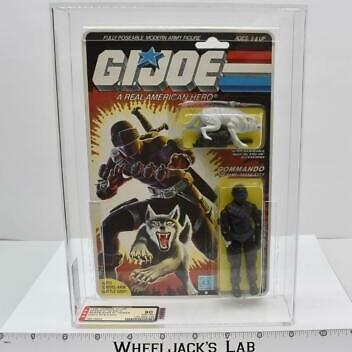 AFA-Graded 1985 GI Joe Snake Eyes