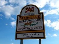 USA Welcome signs - Maryland