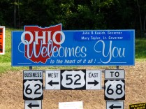 USA Welcome signs - Ohio 2