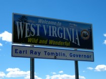 USA Welcome signs - West Virginia