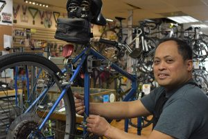 Wheel Nuts Bike Shop Ray