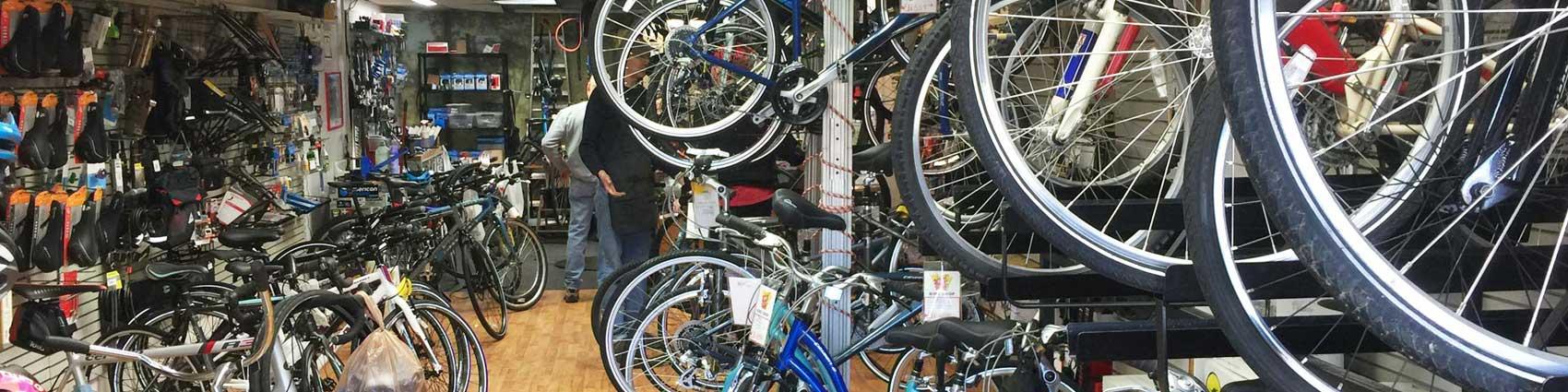 Wheel Nuts Bike Shop header sales1