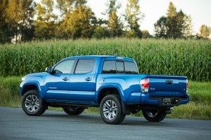 The 2016 Toyota Tacoma has a new 3.5-liter V-6, and a more refined and quieter cabin. (Toyota)