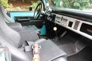 21_FEA_122119BW09  Bud Wilkinson Republican-American   The interior of the 1974 Ford Bronco.
