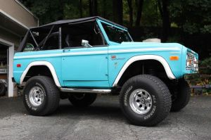 21_FEA_122119BW02  Bud Wilkinson Republican-American   The 1974 Ford Bronco owned by Tom Cavanaugh of Great Barrington, Mass.