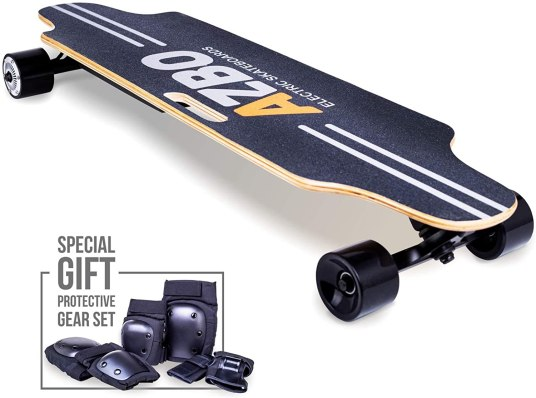 Electric-Skateboard-Longboard-with-Remote-Control