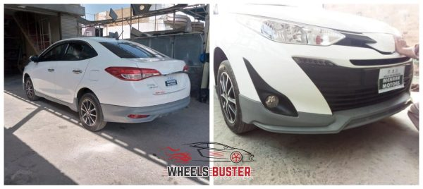 toyota yaris complete bodykit in pakistan