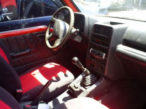 Suzuki Sidekick Geo Tracker interior