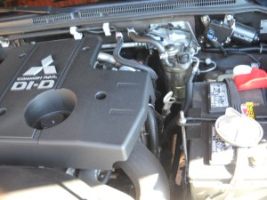 3.2 liter DiD Engine Mitsubishi Diesel