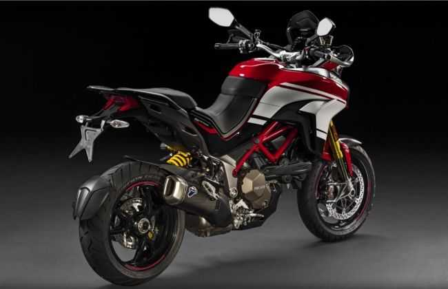 Ducati Multistrada Pikes Peak India