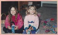 Amanda & Caitlin-Mar 94