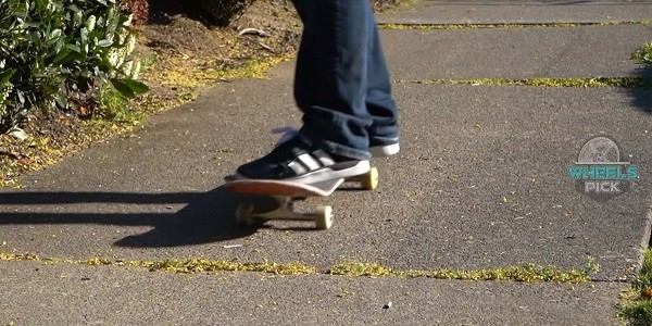 Riding your skateboard in your leisure time