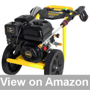 Best Pressure Washer for Cars - Stanley FATMAX 3400 psi 2.5 GPM Gas Pressure Washer Powered Review