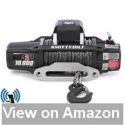 Smittybilt (98510) X2O Waterproof Synthetic Rope Winch – 10000 lb Review
