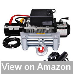 Yescom 10000 lb 12V 5.5HP Electric Recovery Winch Review