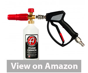 Best Foam Cannon - Adam's Red Foam Cannon & Snub Nose Pressure Washer Nozzle Combo Review