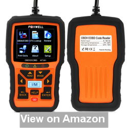 FOXWELL Nt301 Obd2 Code Scanner Universal Car Diagnostic Tool Review