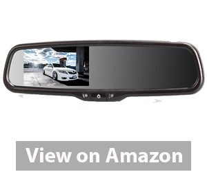 Best Rear View Camera - AUTO-VOX LCD Auto Adjusting Brightness Car Rearview back up Mirror Monitor Screen Review