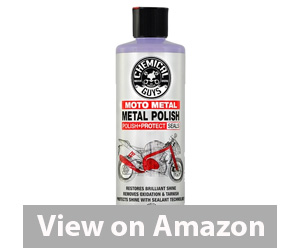 Chemical Guys MTO10616 Moto Line Moto Metal Polish Cleaner, Polish & Protectant for Motorcycles