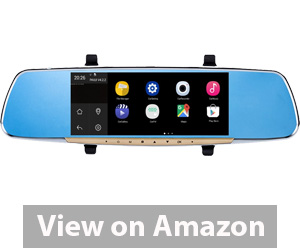 Ezonetronics Touch Screen Car Rearview Mirror Monitor with GPS Navigation Review