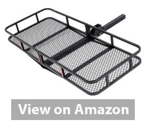 Best Hitch Cargo Carrier - ARKSEN Folding Cargo Carrier Luggage Basket review