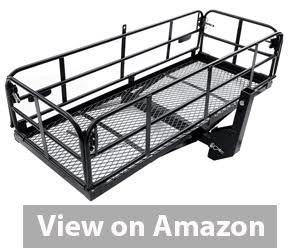 Merax Foldable Hitch Cargo Carrier review