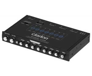 Clarion EQS755 7-Band Car Audio Graphic Equalizer with Front 3.5mm Auxiliary Input, Rear RCA Auxiliary Input and High Level Speaker Inputs Review