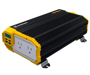 KRIËGER 1100 Watt 12V Power Inverter Dual 110V AC Outlets Review