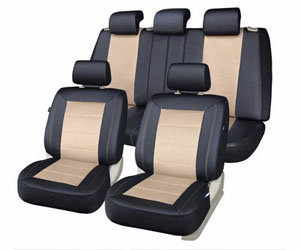 PIC AUTO Universal Fit Full Set Mesh and Leather Car Seat Cover Review
