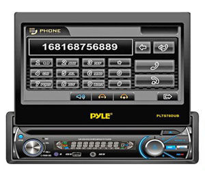 "Pyle PLTS78DUB, Single DIN Head Unit Receiver - In-Dash Car Stereo with 7"" Multi-Color Touchscreen Display Review"