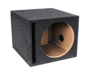 BBox E12SV Single 12 Vented Carpeted Subwoofer Enclosure Review