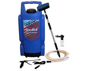 Caraid Portable Pressure Car Washer and Power Bank Review