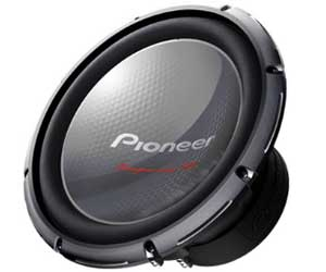 Pioneer TS-W3003D4 12 4000W Champion Car Power Subwoofers 4-Ohm DVC Sub Review