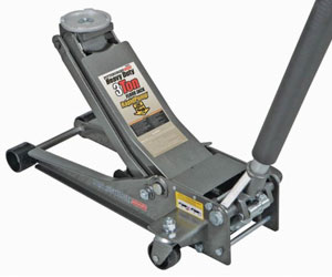 Pittsburgh Automotive 3 Ton Heavy Duty Ultra Low Profile Steel Floor Jack with Rapid Pump Quick Lift Review