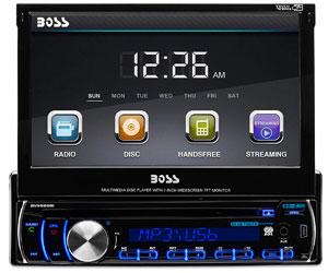 BOSS Audio BV9986BI - In-Dash, Single DIN, Bluetooth, DVD/CD/MP3/USB/SD AM/FM Receiver Review