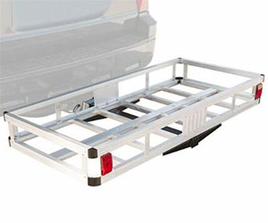 MaxxHaul 70108 49 x 22.5 Hitch Mount Aluminum Cargo Carrier With High Side Rails Review