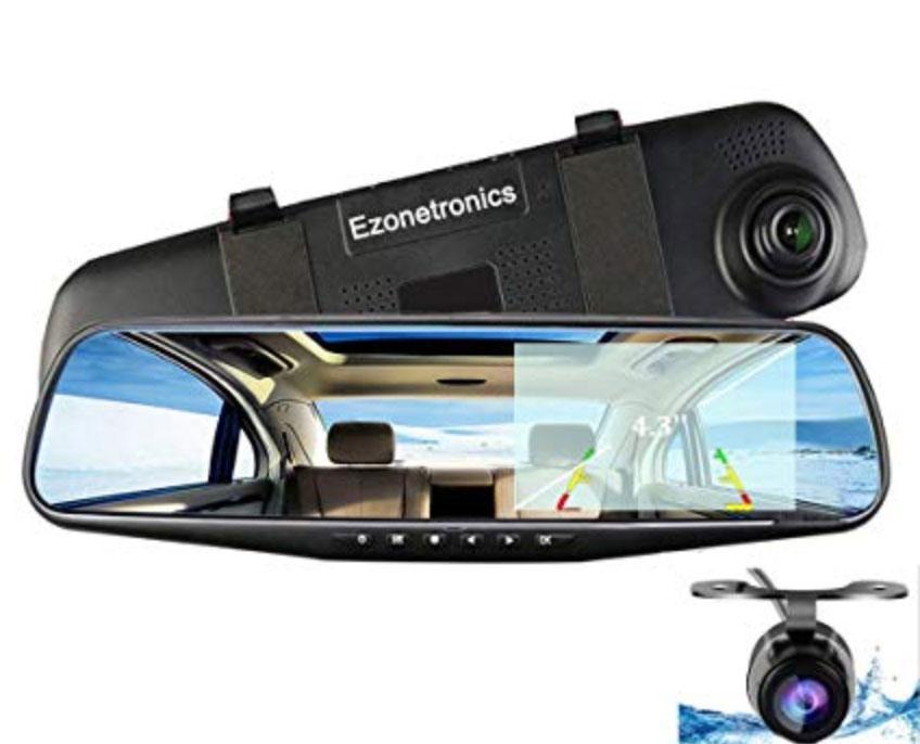 Brilliant Four Channel Car Camera Remote Controller Dvr Recorder For Front Rear Side View Camera Split-screen Parking Assistance Soft And Light Car Video Surveillance Dvr/dash Camera