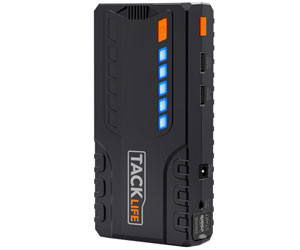TACKLIFE T6 Car Jump Starter 600A Peak 16500mAh 12V Auto Battery Jumper & Booster Review