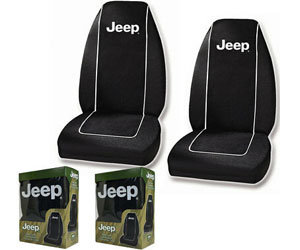 Plasticolor 6563R01 Jeep Logo Front Bucket Seat Covers - One Pair Review
