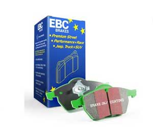 EBC 6000 Series Greenstuff Brake Pads Review