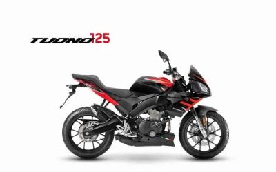 The Aprilia Tuono 125 ABS