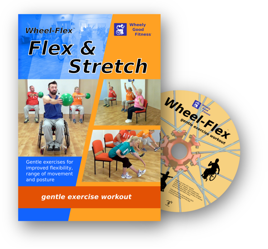 chair exercises for seniors dvd australia rv couches and chairs buy our home exercise dvds wheel flex stretch ntsc from amazon