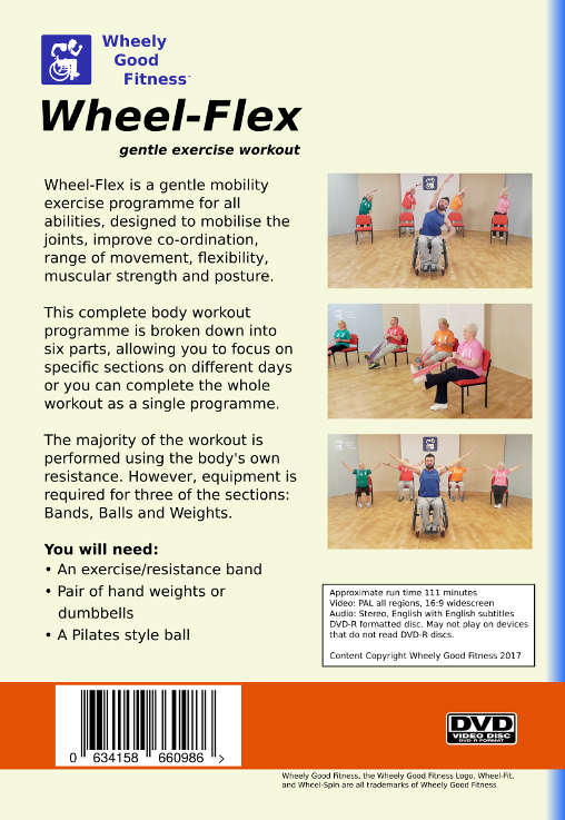 chair exercises for seniors dvd australia ikea replacement covers buy our home exercise dvds wheel flex pal