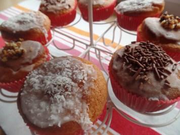 Muffins mit Überraschungskern