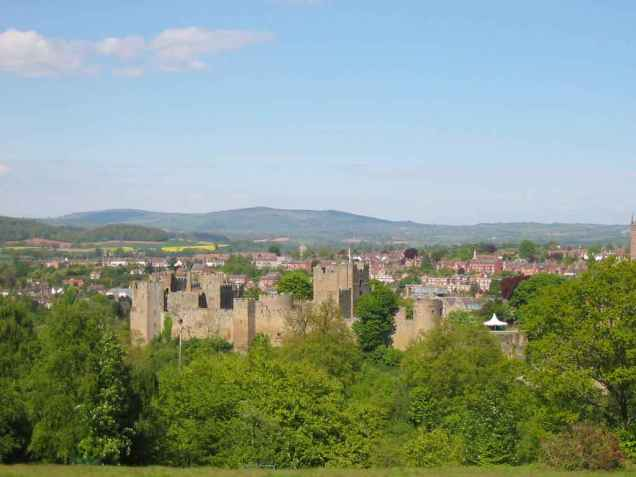 Ludlow Castle - home of the Mortimer family