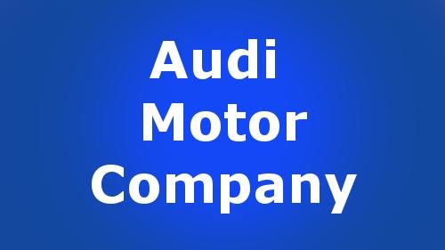 audi motor company