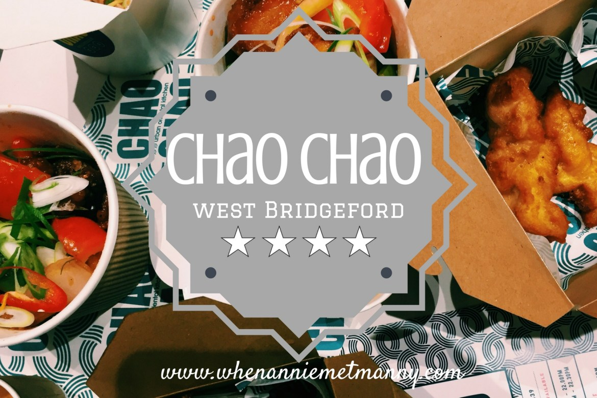 Chao Chao: West Bridgeford, Nottingham