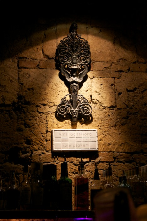 inside a ruin pub, Budapest