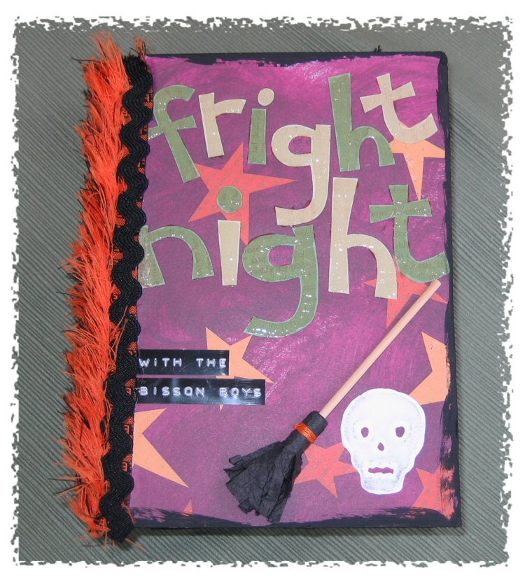 Simple Solution - Fright Night Halloween Photo Book